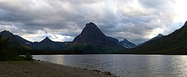 View of Two Medicine Lake in Glacier National Park. My favorite!