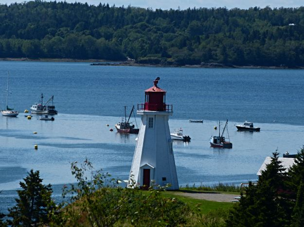 Mulholland Lighthouse on Campobello Island