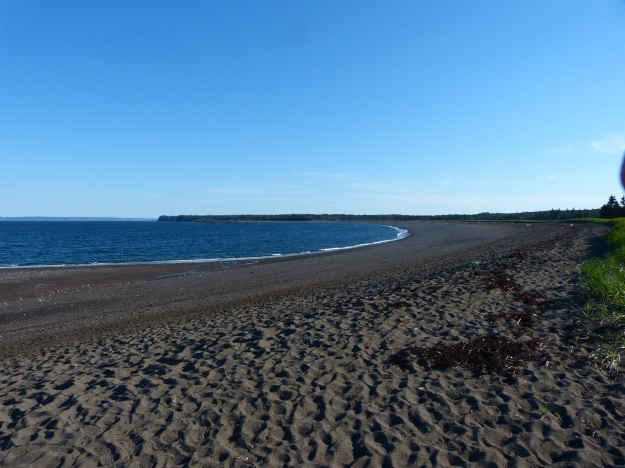 Beach at Herring Cove Provincial Park