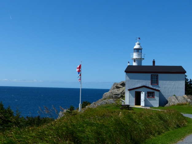 Lighthouse at Lobster Cove, Newfoundland