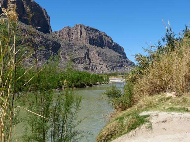 Rio Grande near Santa Elena Canyon