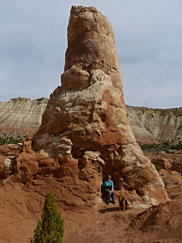 Sand spire at Kodachrome State Park