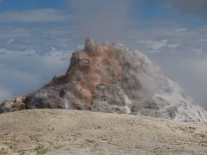 Thermal activity at Yellowstone